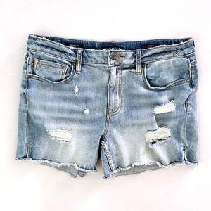 Vigoss The Chelsea Womens Cut Off Denim Shorts